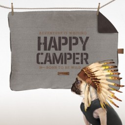 Couette Happy Camper Taupe